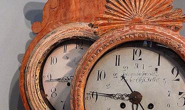antique Swedish Clocks