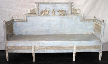 antique Sofas, Benches & Beds
